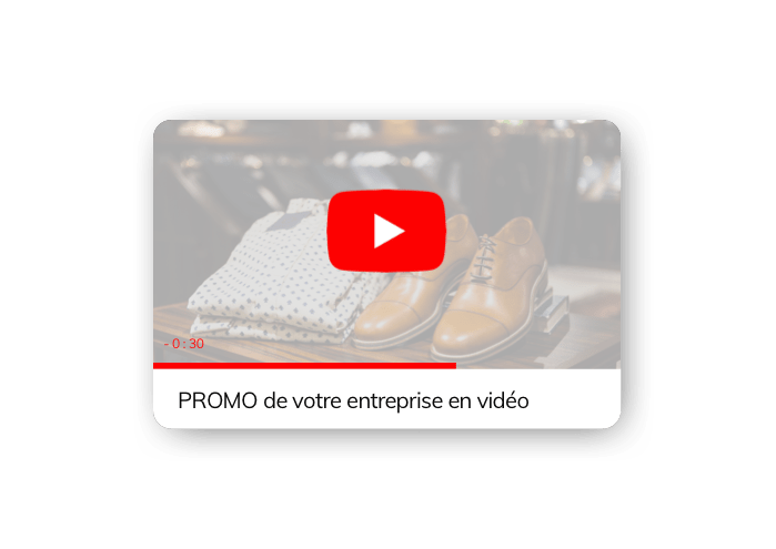 Youtube pour site internet agence web